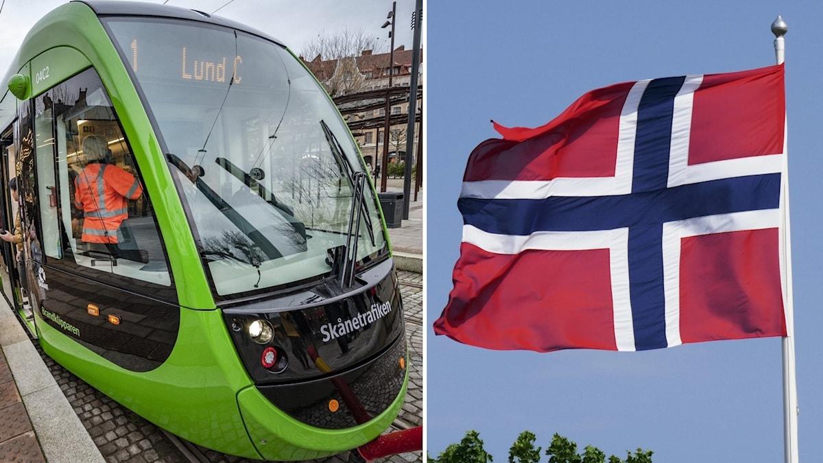Spårvagn i Lund.