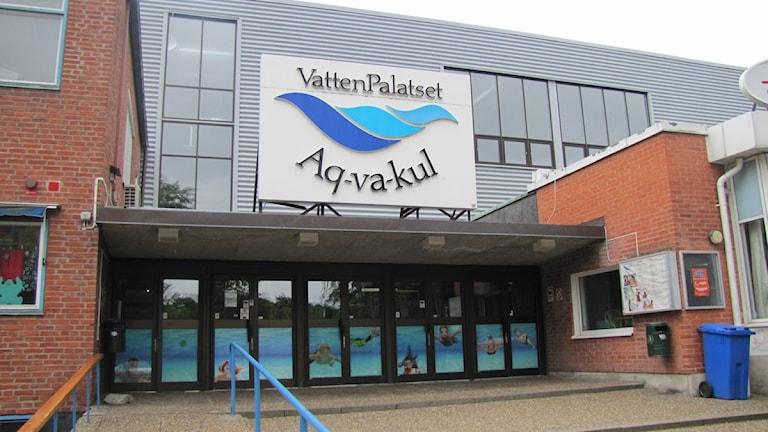 Badhuset Aq-va-kul i Malmö. Foto: Axel Palmkvist/Sveriges Radio