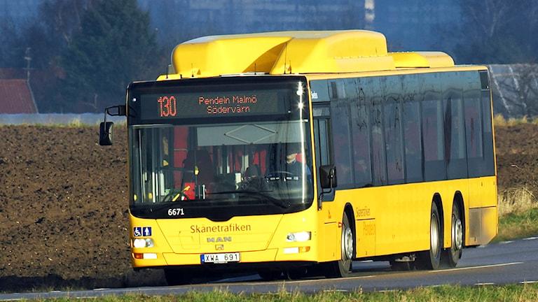 Buss. Foto: Kasper Dudzik/Skånetrafiken
