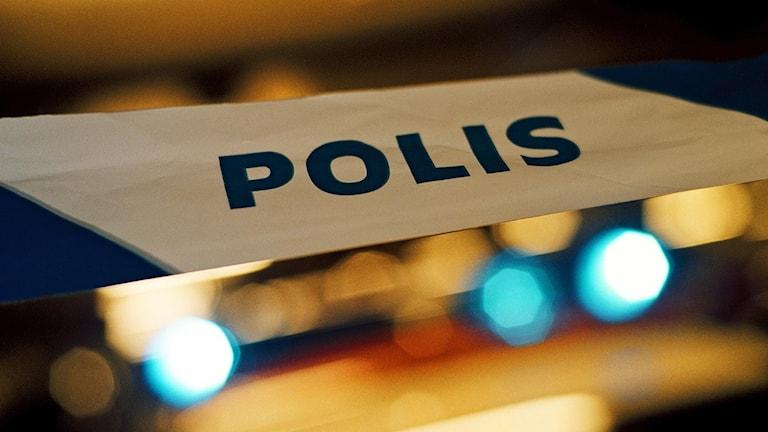 Polisavspärrrning Foto: Marcus Lindblad/TT