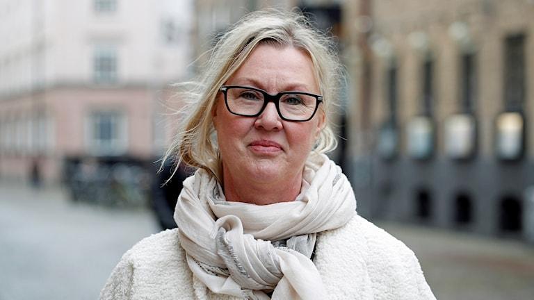 Waileth Persson skrev bok om att komma tillbaka efter lång arbetslöshet. Foto: Karin Genrup/Sveriges Radio