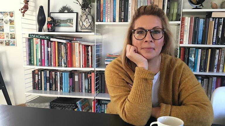 Sanna von Gertten, förälder i Malmö som tycker att skolvalet är svårt att förstå. Foto: Anna Landelius/Sveriges Radio