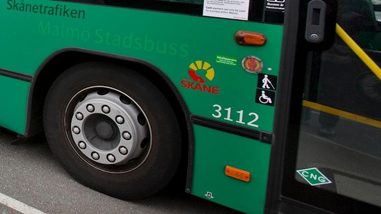 Malmös stadsbussar.