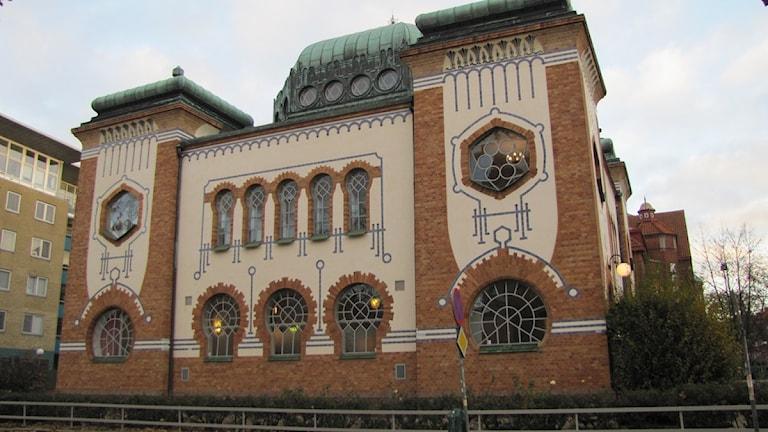 Synagogan i Malmö. Foto: Anna Bubenko/SR