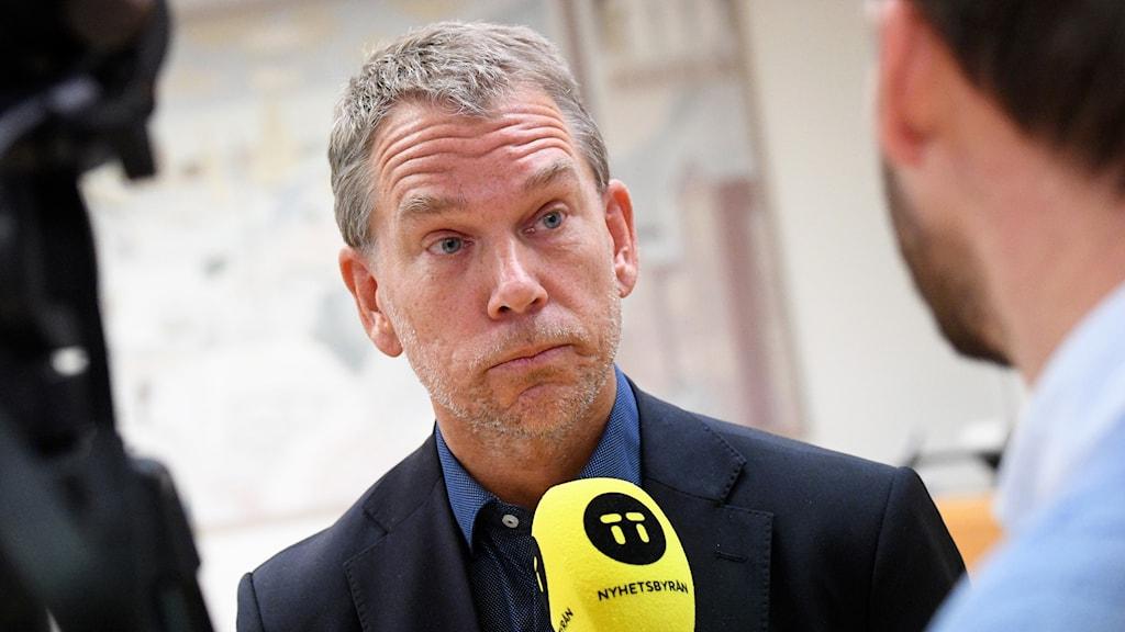 Svenjohan Davidson, verksamhetschef grundskolan i Lomma. Foto: Johan Nilsson/TT