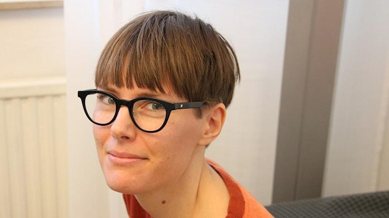 Emma Börjesson vid miljöförvaltningen i Malmö stad. Foto: Peter Bengtsson/Sveriges Radio.