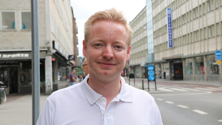 Torbjörn Tegnhammar (M), oppositionsråd i Malmö.
