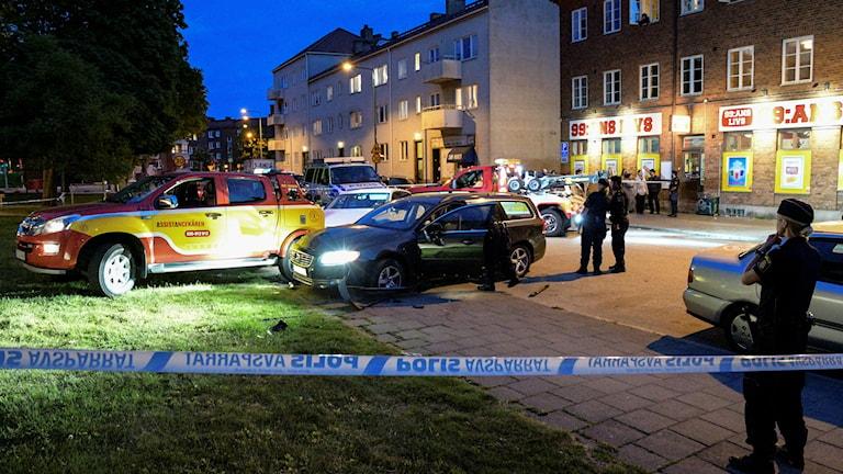 Mordförsök i Malmö