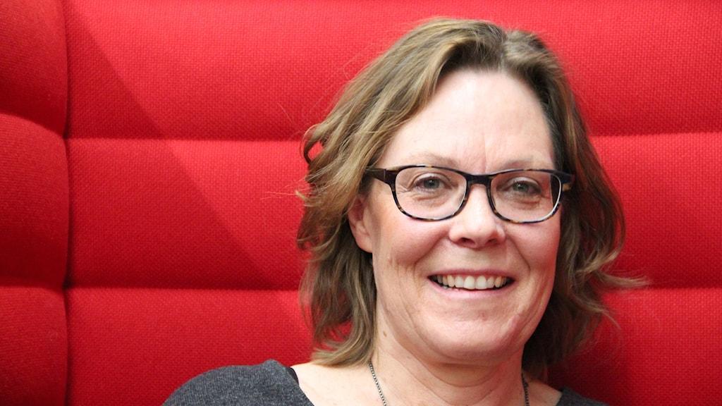 Gunilla Klingberg, professor i barntandvård vid Malmö högskola. Foto: Hans Zillén/Sveriges Radio.