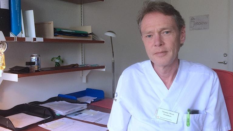 Thomas Jiborn, överläkare och sektionschef för urologin vid Skånes universitetssjukhus