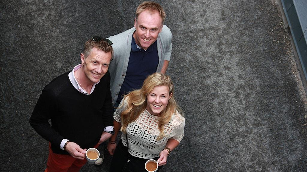 Spirit of Lily.  Per Rydström, Henrik Thunblad och  Emelie Torstensson