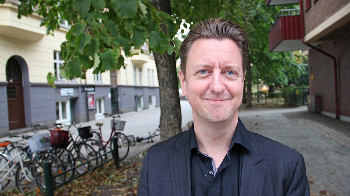 Dirigent Kristofer Wåhlander.