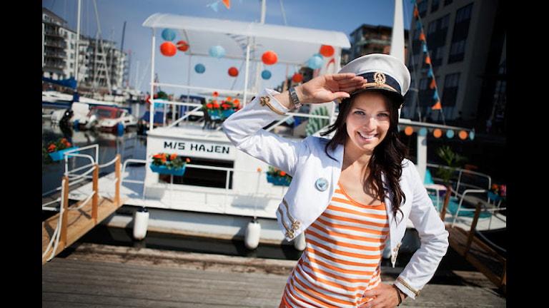Sommarlovsgänget med Malin Olsson som kapten flyttar i sommar till Anna Lindhs plats för att kunna ta emot mer publik än tidigare år. Foto: SVT