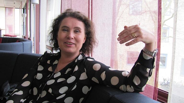 Margareta Svenning. Foto: Petra Haupt/Sveriges Radio