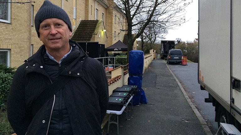 Anders Landström, producent från produktionsbolaget Filmlance.