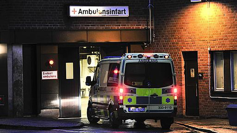 Ambulans. Foto: Jonas Ekströmer/Scanpix.