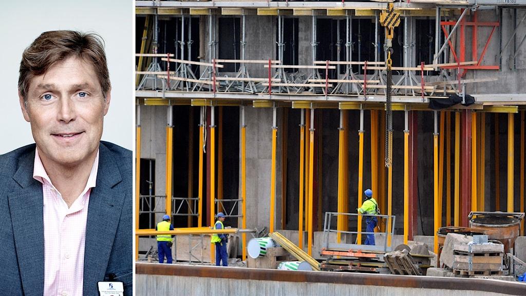 Anders Gärdsmark, regionchef Sveriges byggindustrier Syd