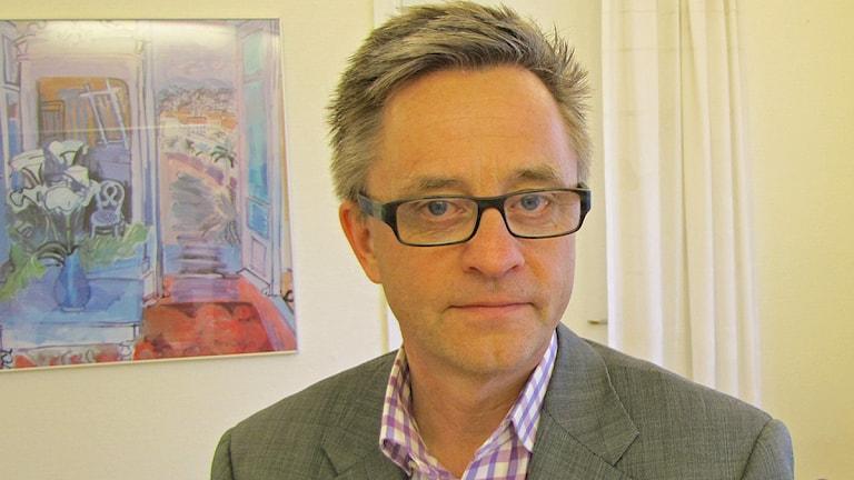 Jan Eriksson, chef för Skånes universitetsssjukhus SUS. Foto: Petra Haupt/Sveriges Radio