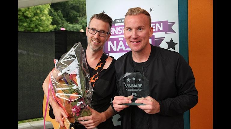 Tobias Svärd och Kristian Maga vann  finalen i Malmö.