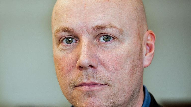 Fredrik Bengtsson, presschef på Migrationsverket. Foto: Tomislav Stjepic