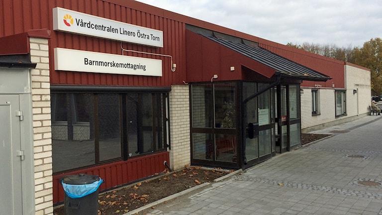 Vårdcentralen Linero-Östra Torn i Lund. Foto: Petra Haupt/Sveriges Radio.
