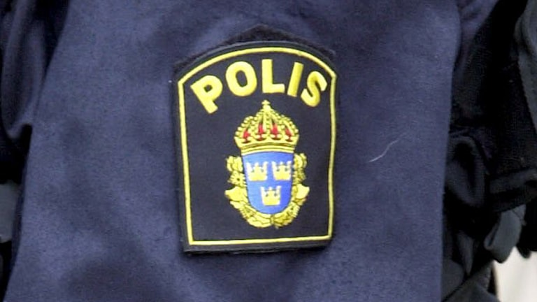 Polisemblem. Foto: Janerik Henriksson/Scanpix