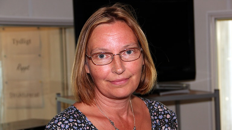 Carina Nilsson, socialkommunalråd (S) i Malmö. Foto: Hans Zillén/Sveriges Radio