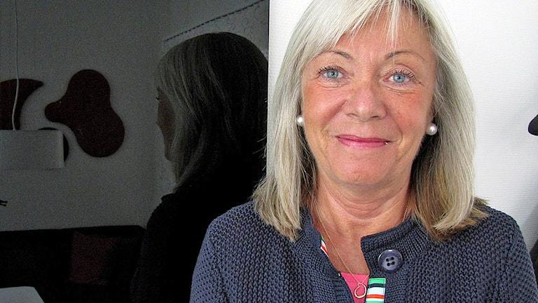 Eva Ahlgren, gymnasiedirektör, Malmö stad. Foto: Edina Hrusic/Sveriges Radio