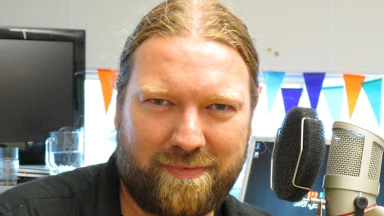 Operasångaren Rickard Söderberg. Foto: Ann-Marie Lindqvist/Sveriges Radio