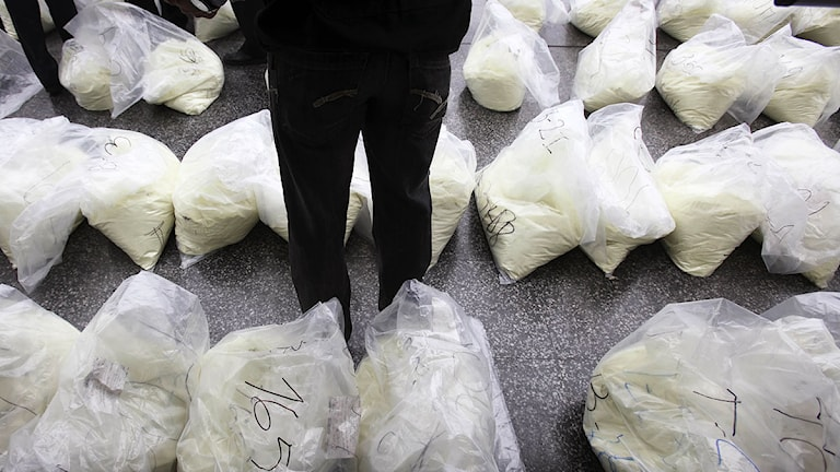 Arkivbild. Kokainparti. Foto: Martin Mejia/Scanpix