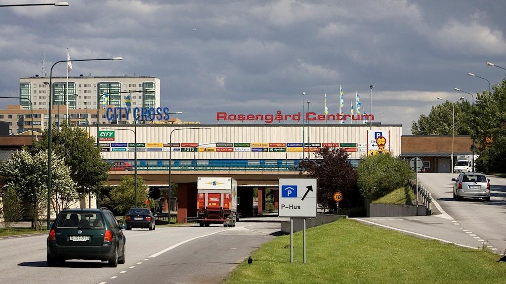 Rosengårds centrum.