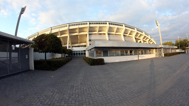 Gamla Malmö stadion. Foto: Paul Zyra/Sveriges Radio