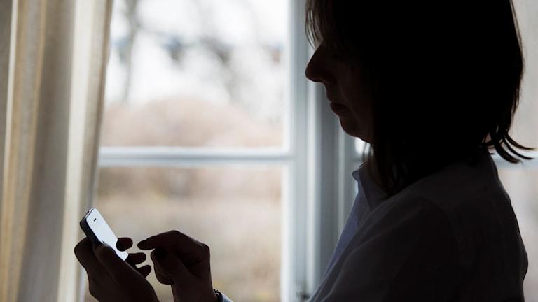Allt fler kvinnor kontaktar kvinnojourerna om sexuellt våld- och tvång.  Foto: Fredrik Sandberg/TT