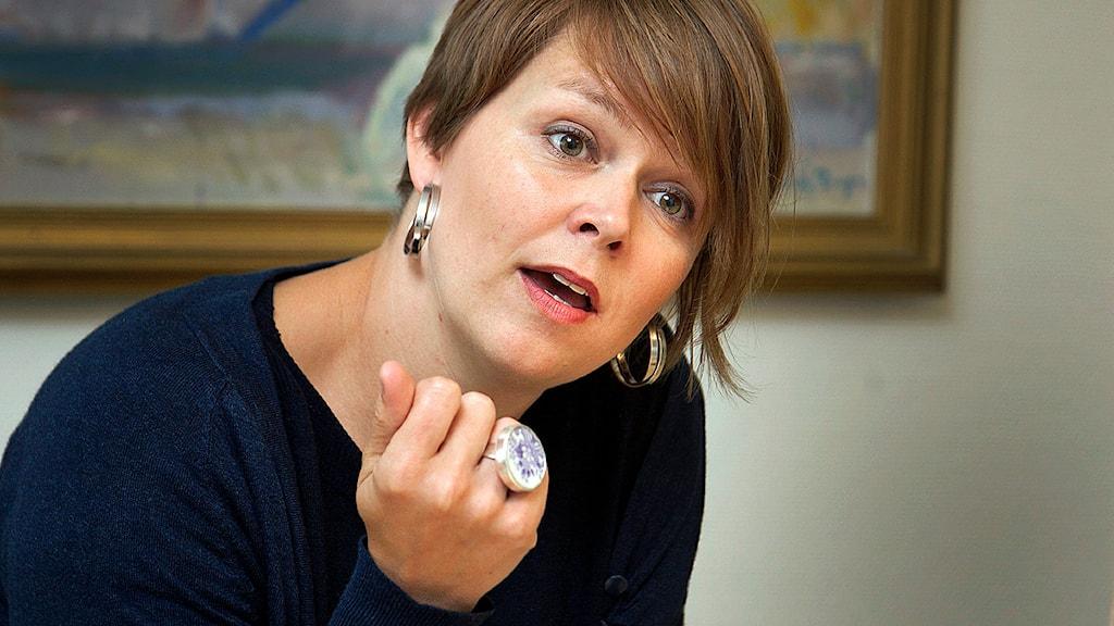 Katrin Stjernfeldt Jammeh (S), kommunstyrelsensordförande i Malmö. Foto: Stig-Åke Jönsson/TT