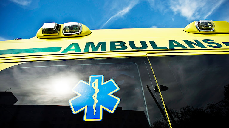 Ambulans Foto: Yvonne Åsell/TT