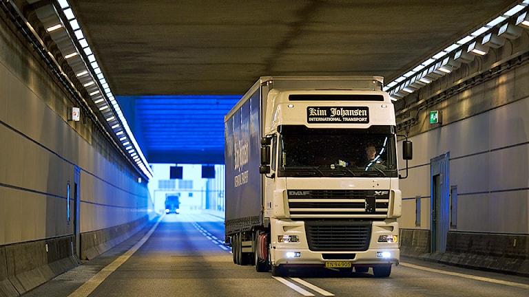 Öresundsbrons tunneldel Foto: Öresundsbron