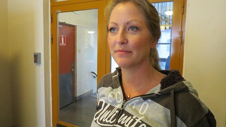 Matilda Jägerdén, enhetschef på Skånes stadsmission i Malmö. Foto: Thobias Ligneman/Sveriges Radio