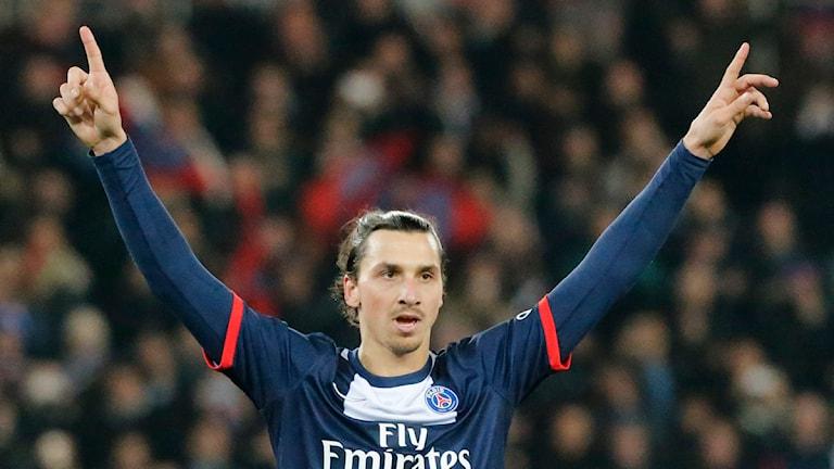 Zlatan Ibrahimovic Foto: Jacques Brinon/TT