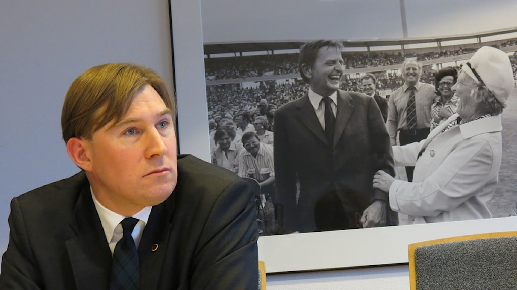 Henrik Fritzon (S), regionstyrelsens ordförande i Region Skåne. Foto: Petra Haupt/Sveriges Radio