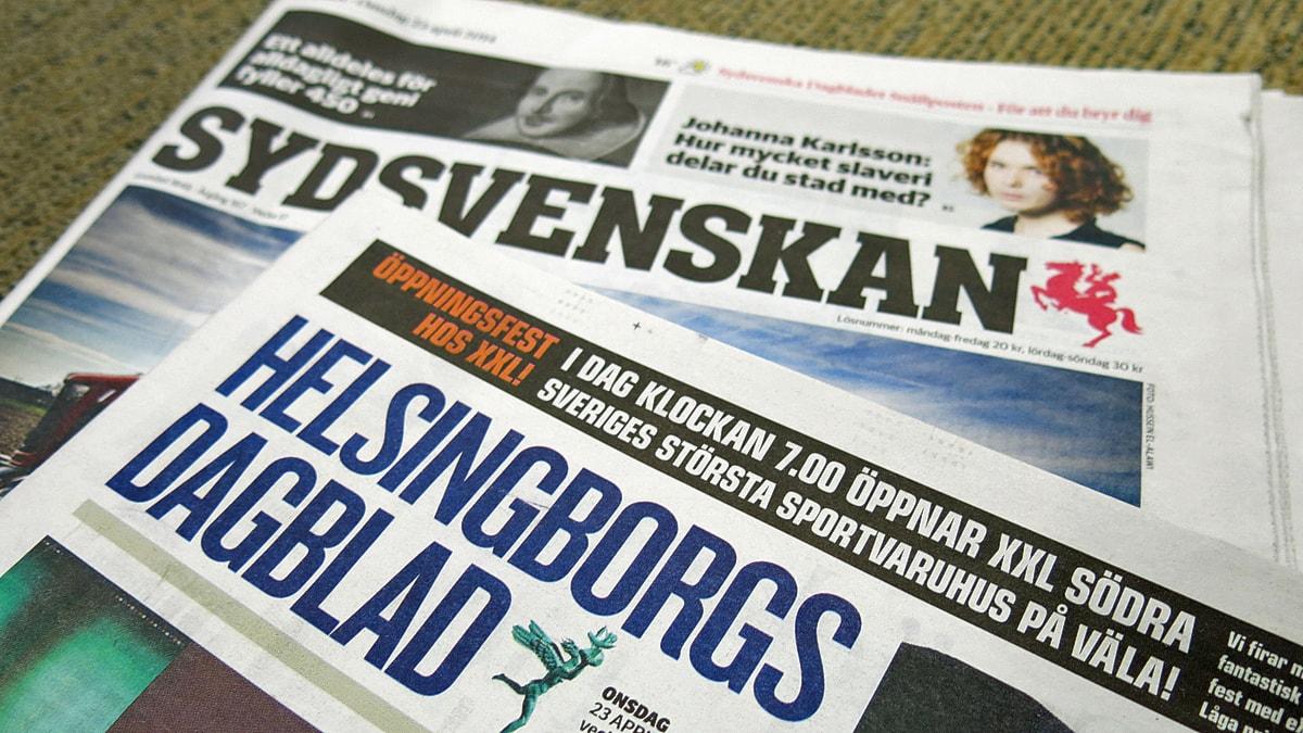 Sydsvenskan vill kopa ystadtidning