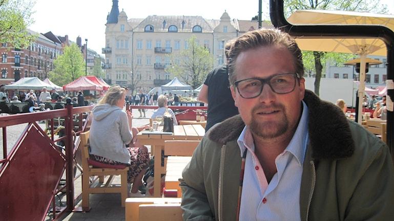 Carl-Johan Sonesson (M), regionråd och sjukvårdspolitiker i Skåne. Foto: Svjetlana Pastuhovic/Sveriges Radio