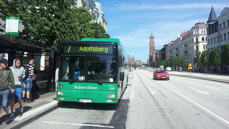 Hållplatser flyttas när Järnvägsgatan byggs om.