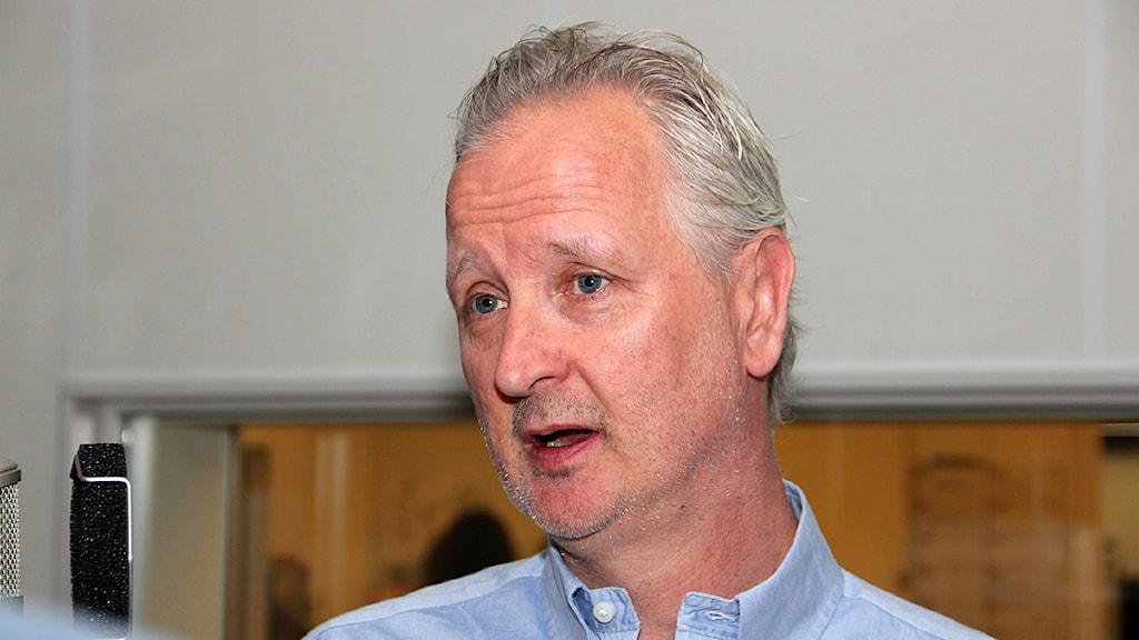 Leif Stenberg, chef för centrum för Mellanösternstudier vid Lunds universitet. Foto: Hans Zillén/Sveriges Radio