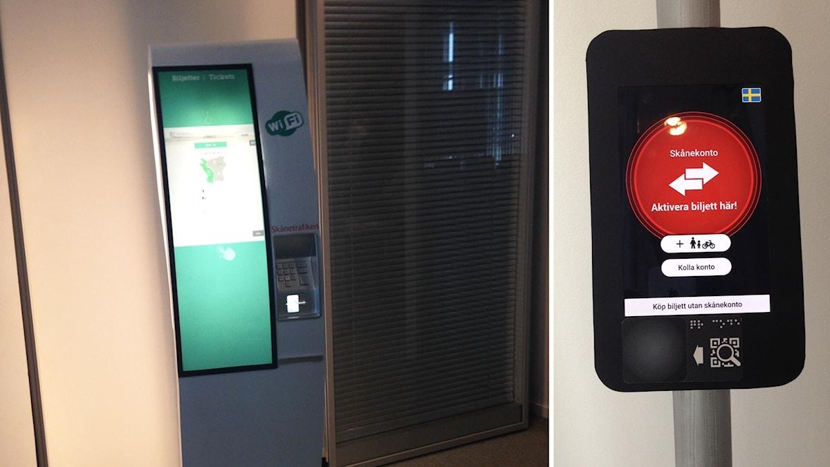 Skånetrafiken ska byta ut sina biljettautomater.