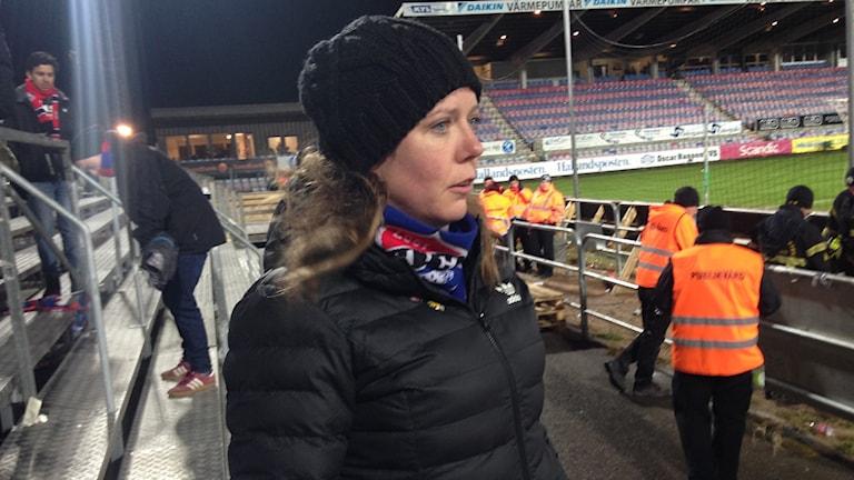 Åsa Bergman, supporterföreningen Kärnan.