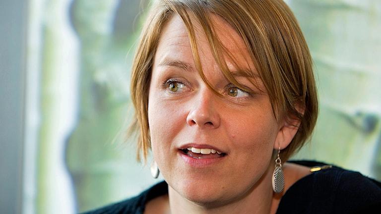 Katrin Stjernfeldt Jammeh (S), kommunstyrelsens ordförande i Malmö. Foto: Drago Prvulovic/TT