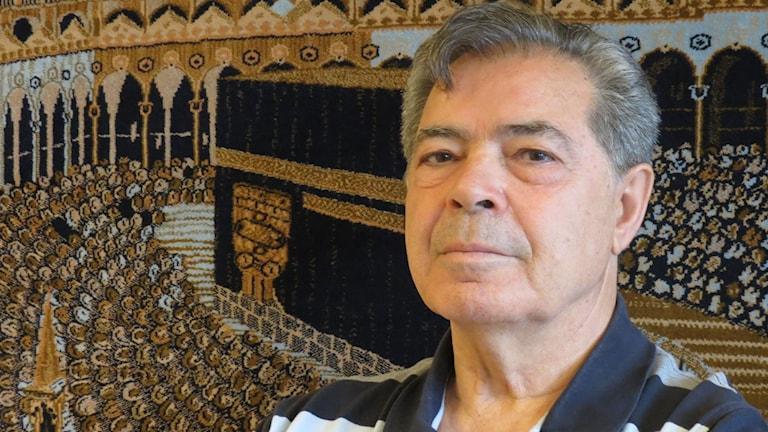 Bejzat Becirov, vd för Islamic Center. Foto: Sandra Neergaard-Petersen/Sveriges Radio