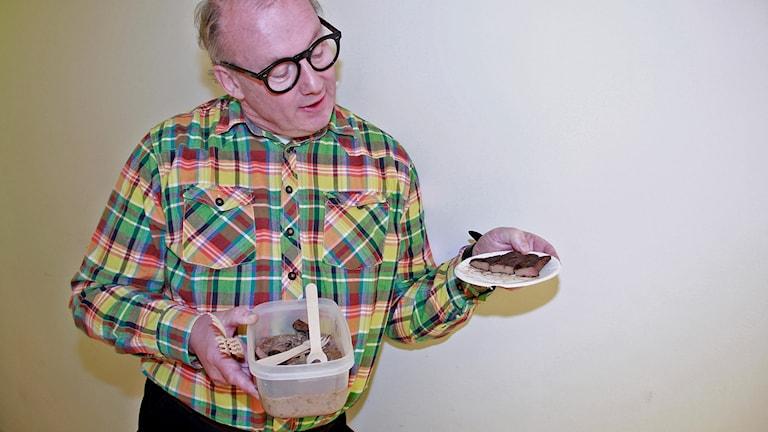 Jan Boris Möller och sin lever