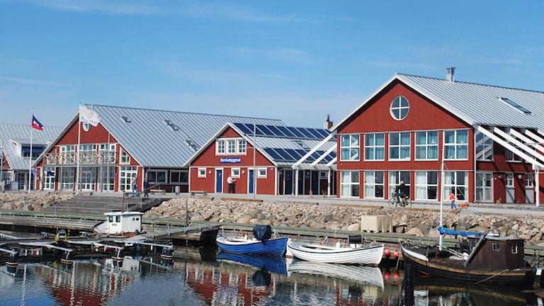 Hamnen i Höganäs Foto: Höganäs kommun