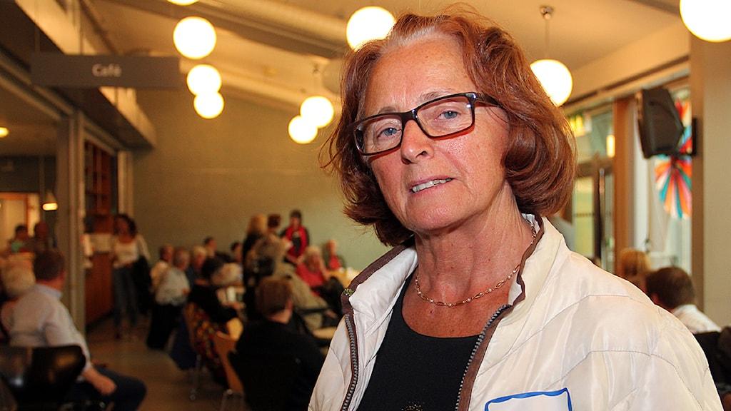 Inga-Kerstin Eriksson, centerpartist i Lund.